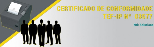 Certificação Tef-IP Nr. 03577
